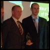 Chris and Andy presented with Doncaster's Top Amateur Sports Club