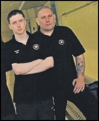 Head Coaches Kevin (Spa) with Neil (Adwick)