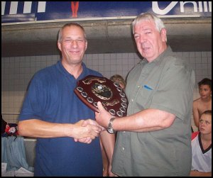 Graham Martin receives Minster Meet Top Club Shield