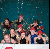 A Pride of Animals: the 200m Fly girls