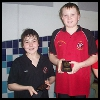 Jarvis and Joe medal presentation at The Hydro