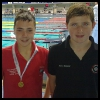 200m Butterfly Boys: Alex and Jarvis