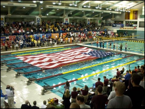 NCAA Flag Ceremony