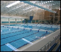 John charles centre for sport swimming pool home of city of leeds sc for Leeds international swimming pool